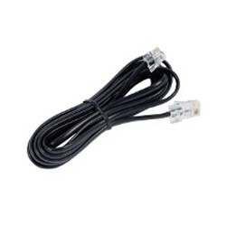 Connecting Cord. 6M. Mw6/Mw6 (Rj11/Rj11) For Optiset E And Optipoint 500 Workpoints - Imagen 1