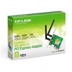 Tarjeta de Red Tp-Link TL-WN881ND PCIe 300Mbps 2.4Ghz