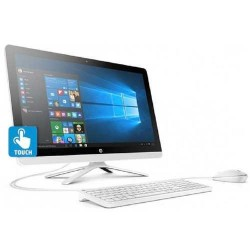 HP AIO  AMD A8 24-g015la   A8-7410/4GB/2TB/23.5/ Touch - White