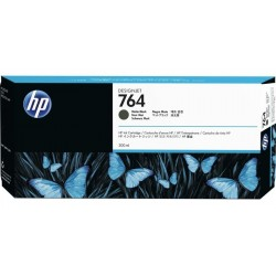 CARTUCHO HP NEGRO MATTE # 764 Designjet T3500 MFP 300ML