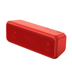 Parlante Sony Inalambrico portatil rojo Sonido One Touch NFC Bluetooth SRS-XB3/R 2 canales + 2