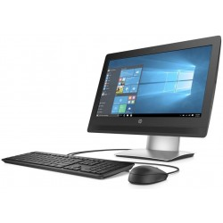 "400 G2 AiO 20"" HD LED Anti-Glare Intel Core i3-6100T 3.2G 3M 2133 2C CPU 500 GB 7200 RPM 4 GB (1x4 G - Imagen 1"