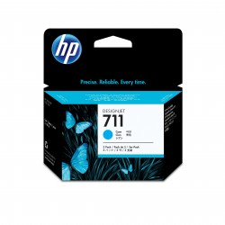 HP 711 Tripack de Tinta  29-ml Cyan  DSJ T120-T520 Series