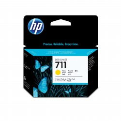 HP 711 Tripack de Tinta  29-ml Amarillo  DSJ T120-T520 Series
