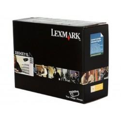 Toner Lexmark X654X11L Negro para X654 X656 X658 36.000 Paginas