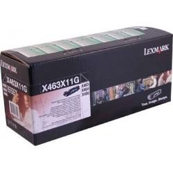Toner Lexmark X463X11G Impresoras X463 X464 X466 Negro 15.000 Paginas