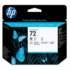 Cabezal HP C9380A Gris y Photo Black 72 series Desingjet T1100 T610