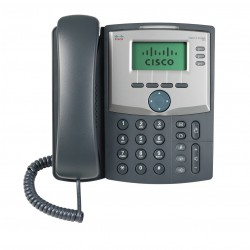 3 Line IP Phone with Display and PC Port - Imagen 1