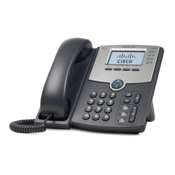 4 Line IP Phone With Display PoE and PC Port 119 - Imagen 1