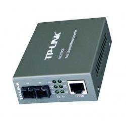 Conversor de Medio (Media Converter) 100Mbps RJ45 a 100Mbps SC MonoModo - Imagen 1