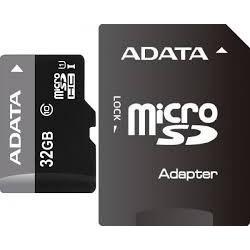 Memoria MicroSD Adata 32GB SDHC SDXC Clase 10 Con Adaptador