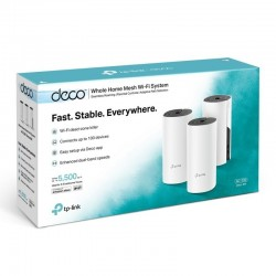 Router Tp-Link Deco M4 Kit x 3 AC1200 WiFi Doble Banda 5Ghz 2.4Ghz