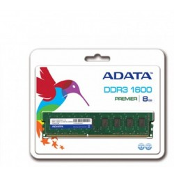Memoria Para PC Adata 8GB DDR3L 1600Mhz Low Voltage