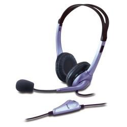 Diadema Audifono Genius HS-04S 2 Plug Con Microfono
