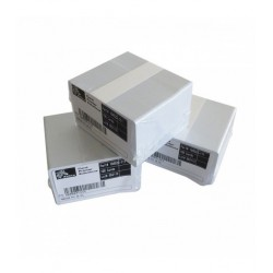 Tarjetas PVC Zebra 104523-111 Calibre 30 Mil Paquete x 500 Tarjetas Blanco