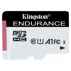 Memoria Kingston microSDHC Endurance 95R 30W C10 A1 UHS-I 64GB - 10,000 horas