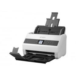 Escáner Epson WorkForce DS-970 vertical/Pantalla LCD/velocidad: 300dpi 85 ppm/130 ipm (Dúplex) /ADF hasta 80 paginas/ciclo diari