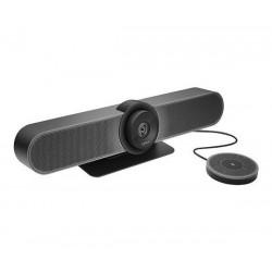 Camara Videoconferencia Logitech Meetup 4K ConferenceCam + Microfono De Expansion