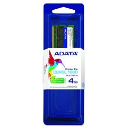 ADATA Memoria Adata Para Portatil 4Gb Ddr3L 1600 Mhz 512X8 Low Voltage (Sodimm)