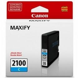 Cartucho Tinta Canon PGI-2100 Cyan 9.6ml Maxify IB4110 IB4010 MB5410 MB5310