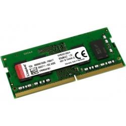 Memoria Kingston 4GB Para Portatil DDR4 2666Mhz Sodimm KVR26S19S6/4
