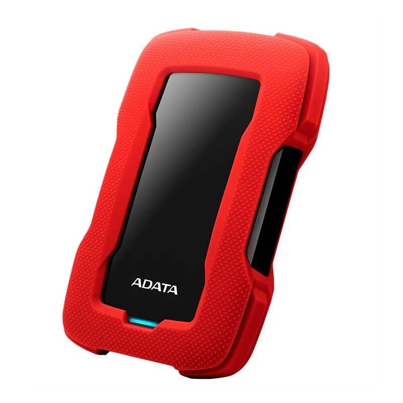 ADATA DISCO EXTERNO ANTIGOLPES/SALPICADURAS HD330 2TB ROJO