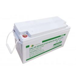 Bateria De GEL 12v 150Ah Para Panel Solar Eco Green Tecnologia Francesa