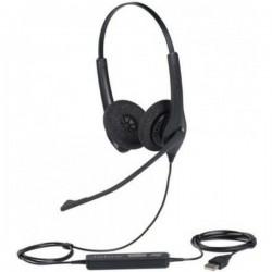 Diadema Jabra Biz 1500 Duo USB Negro 1559-0159