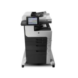 Impresora HP M725Z Laserjet 40ppm MFP Multifuncional blanco y negro