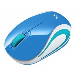 Mini Mouse Logitech M187 Wireless Azul Bright Teal