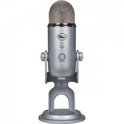 Microfono Logitech Yeti Silver USB 988-000103
