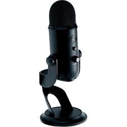 Microfono Logitech Yeti Blackout Edition USB 988-000100