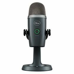 Microfono Logitech Yeti Nano Shadow Gris 988-000088