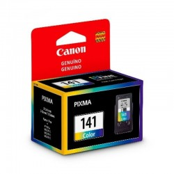 Cartucho De Tinta Canon CL-141 Color 180 Paginas Pixma MG4110 MG3110 MG2110