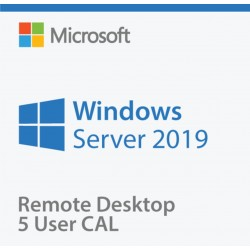 Windows Server 2019 Remote Desktop 5 Usuarios CAL Servidor Dell