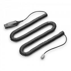 Cable Adaptador Poly His Conector QD 72442-41 Plantronics