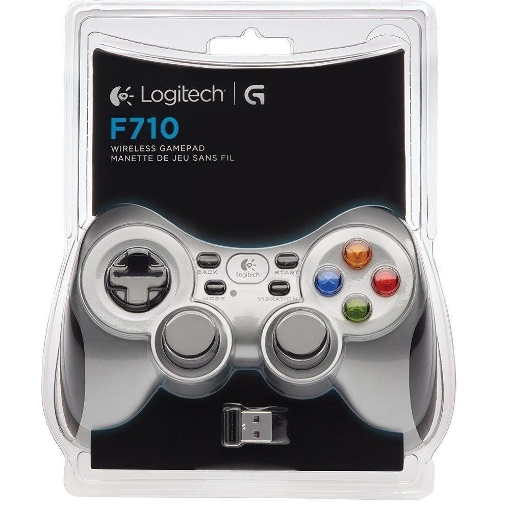 Gamepad Control Logitech F710 Inalambrico Pc