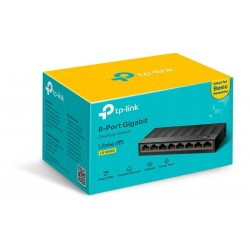 Switch Tp-Link LS1008G 8 Puertos Gigabit 10/100/1000