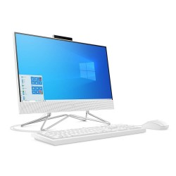 "All In One  HP 22-DD0006LA Core i3 1005G1 4GB 1TB 21.5"" W10 Blanco"
