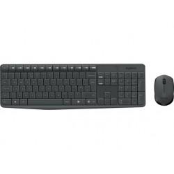 Combo Teclado Mouse Logitech MK235 Inalambrico
