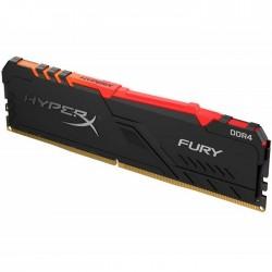 Memoria Para PC Kingston 8GB HyperX Fury RGB DDR4 3000Mhz