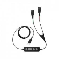 Cable Adaptador Jabra Link 265 QD a USB Para Auriculares 265-09