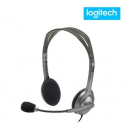 Diadema Logitech H111 Con Microfono Stereo Ajustable 3.5mm