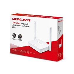 Modem Router Tp-Link Mercusys MW300D Inalambrico N ADSL2+ 300Mbps