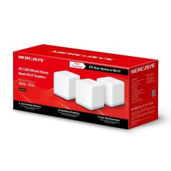 Router Mercusys Tp-link Halo s12 Kit x 3 WiFi De Malla AC1200