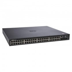 Switch Dell Networking N1548P E16W 48 Puertos GbE PoE+ 4SFP+ Rack