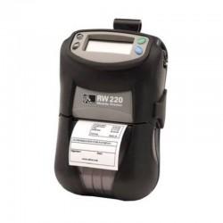Impresora Zebra RW220 Portatil De Recibos Transferencia Directa USB Serial