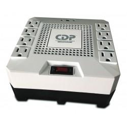 Regulador De Voltaje CDP 1800va 1000w 8 Tomas R-AVR1808