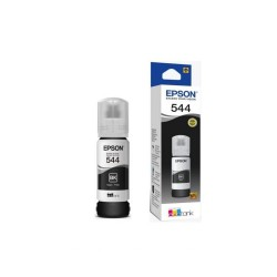 Botella De Tinta Epson 544 BK Negra T544120 65ml L3110 L3150 L1110 L5190