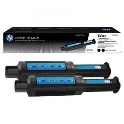 Toner De Recarga HP 103AD Negro Kit x 2 Neverstop 2.500 Paginas